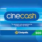 Utilizar Cinecash en Cinepolis