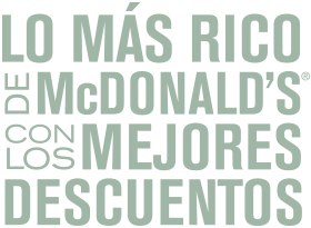 promociones mc donalds